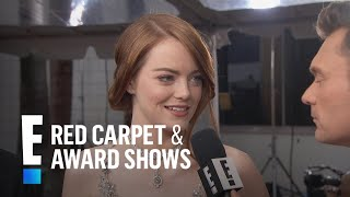 Video Emma Stone Makes The 2017 Golden Globes A Family Affair | E! Live From The Red Carpet