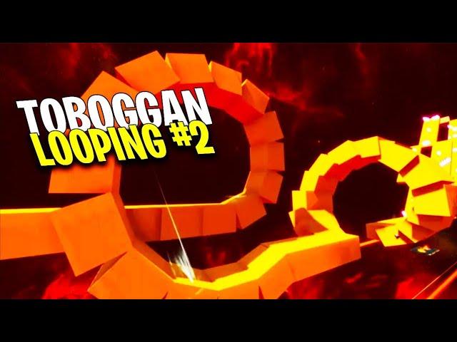 TOBOGGAN LOOPING #2 !