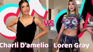 Charli D'amelio Vs Loren Gray TikTok Dance Compilation 2020