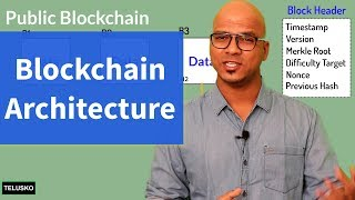 What is blockchain architect