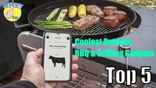 Top 5 Coolest Outdoor BBQ & Grilling Gadgets [YOU MUST HAVE]