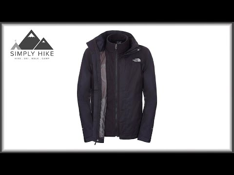 The North Face Mens Evolution II Triclimate Jacket - www.simplyhike.co.uk