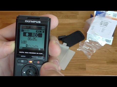 Produkt Test: Olympus Diktiergerät VN733PC + 4GB interner Speicher + Verbindungskabel zum PC