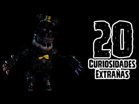 TOP 20: 20 Curiosidades Extrañas De Nightmare En Five Nights At Freddy's 4 | FNAF 4