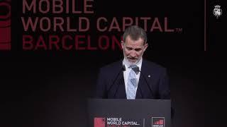 Palabras  de S.M. el Rey en la cena del GSMA Mobile World Congress