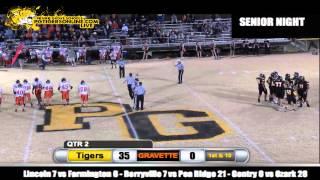 Prairie Grove (55) vs Gravette (0) 2012