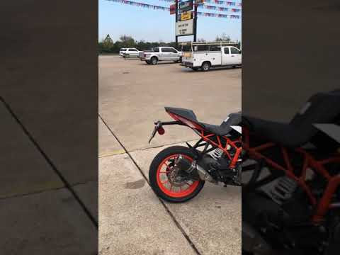 2017 KTM RC 390 at Wild West Motoplex