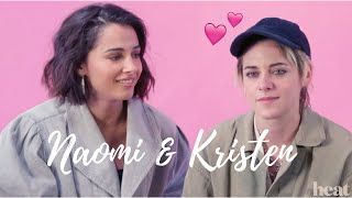 Kristen Stewart And Naomi Scott Being In Love With Each Other For 6 Minutes Straight
