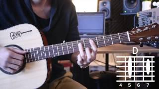 [어썸기타/ASOMEGUITAR] Live high - jason mraz 기타강좌/Guitar tutorial 난이도/Level ★ ★ ★ ★ ☆