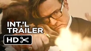 Kingsman The Secret Service Official International Trailer 1 2015  Colin Firth Movie HD