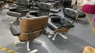 Mid century furniture design herman miller charles eames lounge chair and ottoman youtube video