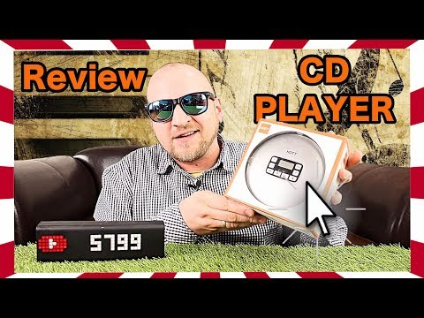 🔴CD PLAYER DISCMAN TEST DEUTSCH REVIEW TRAGBAR