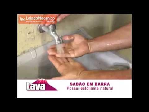 Sabão em Barra 163g para Limpeza Pesada das Mãos - Video