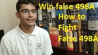 False 498a filed by wife? Deal with it in easy ways and with less stress