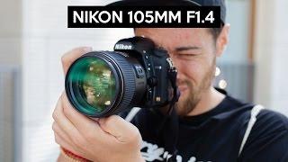 Nikon 105mm F1.4 hands on   english review   TOP portrait lens   Nikon D750