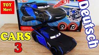 CARS 3 JACKSON STORM Deutsch Spielzeug Autos Kinder Film Disney Cars 3