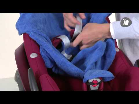 Maxi-Cosi | How to apply your Summer Cover Pebble