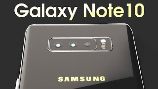 Samsung Galaxy Note 10 Introduction Concept Design - The iPhone XS Killer