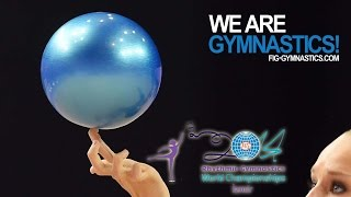 preview picture of video '2014 Rhythmic Worlds, Izmir (TUR) - With the All-Arounders - We are Gymnastics !'