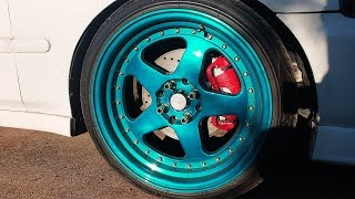Integra Type-R 4 Lug Brake Upgrade For A Honda Civic (FRONT AND REAR!)