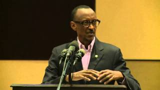 preview picture of video 'President Kagame speaking at 7th Forum of Unity Club- Kigali, 8 November 2014'
