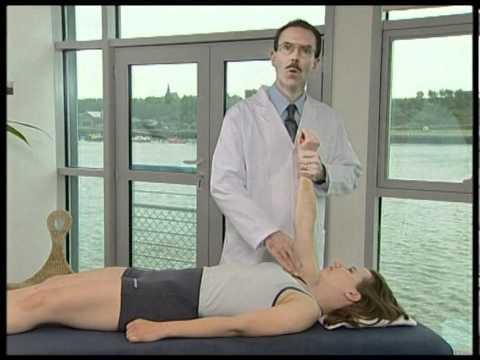 Verletzt Lymphoven Knoten im Nacken