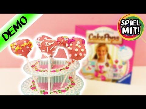 CAKE POPS SELBER MACHEN für Kinder! LECKERE MINI KUCHEN am Stil mit Ravensburger Back Set herstellen
