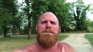 Ginger Billy Thinks Having A Beard On Is A Coat For Your Face