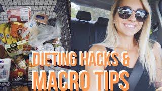 Diet Hacks, Macro Tips & Grocery Essentials 🥑