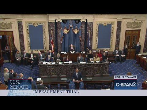 U.S. Senate: Reading of Articles of Impeachment