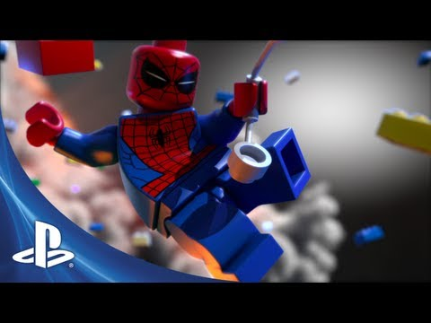 Trailer de LEGO Marvel Super Heroes