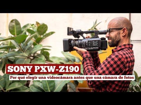 Sony PXW-Z190: ¿Por qué elegir una videocámara antes que una cámara de fotos?