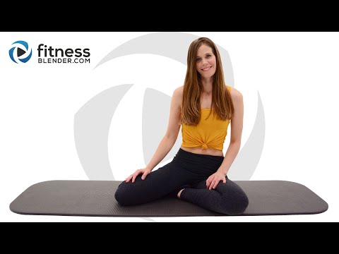 Pilates Butt and Thigh Workout for Glute Activation – Mat Pilates Flow with Ascending Reps