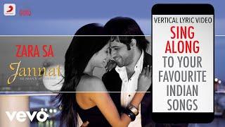 Zara Sa - Jannat Official Bollywood Lyrics KK - YouTube