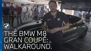 The BMW M8 Gran Coupé walk around at Goodwood Festival of Speed