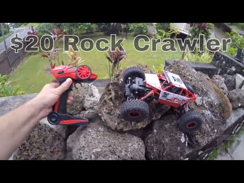 $20 Off Road Rock Crawler - Remote Control Car 4WD
