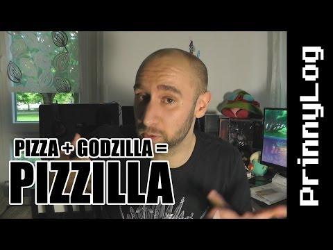 Pizza + Godzilla = PIZZILLA - PrinnyLog