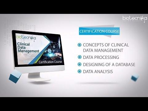 Clinical Data Management Online Certification Program - Biotecnika ...