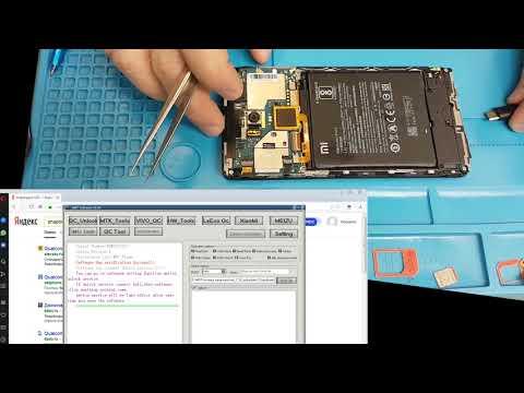 Сброс FRP Unlock FRP Xiaomi Redmi note 4 с помощью MRT донгла