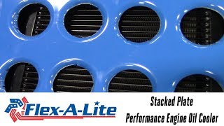 In the Garage™ with Parts Pro™: Flex-A-Lite Stacked Plate Performance Engine Oil Cooler