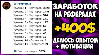 Сколько можно заработать в боте RKT8 с 5500 рефералов, как привлечь рефералов