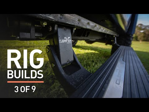 Powerfold towing mirror upgrade PLUS installation of Powerboards sidesteps! [3 OF 9]