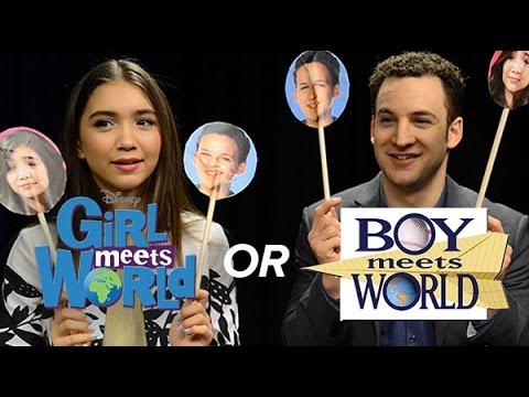 boy meets world vs girl meets world