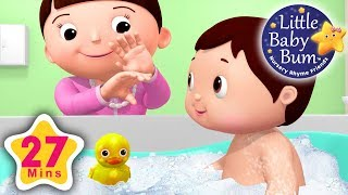 Bath Song | Little Baby Bum | Nursery Rhymes for Babies | Songs for Kids
