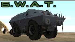 GTA San Andreas - how to get the SWAT Tank (S.W.A.T.)