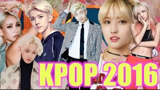 MY TOP 21 KPOP AND KOREAN HIPHOP SONGS 2016 #KENNYBOYSLAY