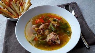 Суп из кролика.  Рецепты из Кролика. Суп 1-го Января.      Rabbit soup