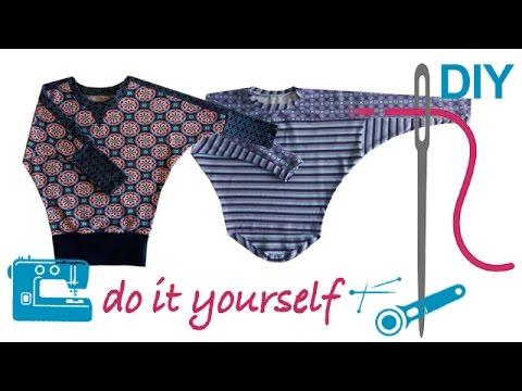 """Shirts mit Fledermausärmeln """"Alizia"""" und """"Klea"""" selber nähen - für Kinder und Erwachsene"""