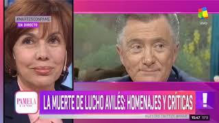 Lucho Avilés: Entre Homenajes Y Críticas - Pamela A La Tarde (11/06/2019)