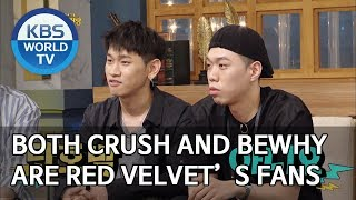Both Crush And BewhY Are Red Velvet's Fans [Happy Together2019.07.25]